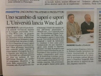 Press coference on The Wine Lab EU project launch in Macerata