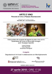Art & Wine in Macerata, Italy!